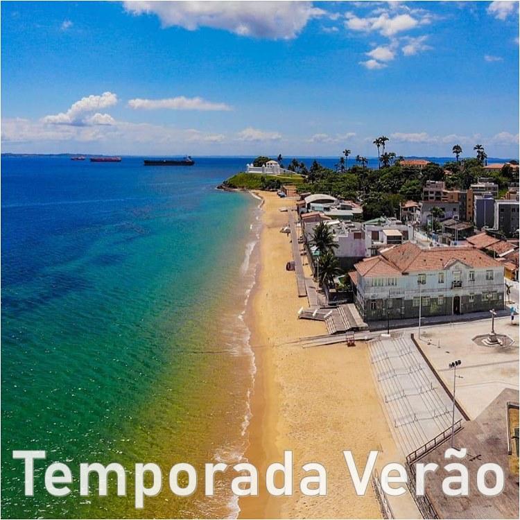 Salvador Verão na Bahia - Turismo no Brasil - temporadaverao.com