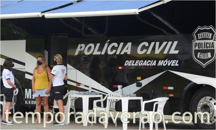 Litoral paranaense : Verão Consciente - Polícia Judiciária - temporadaverao.com