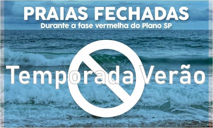 Temporada Verão 2021 - Praia Fechada - temporadaverao.com